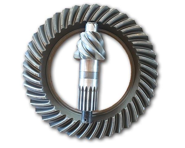 弧齿铣的轮边总成表面的精度检测